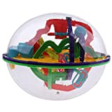 Bonarty 208 Barriers 3D Maze Labyrinth Toy Ball Cube Puzzle for Kids Or Adults Toy