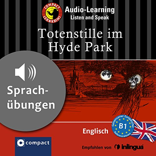 Totenstille im Hydepark audiobook cover art