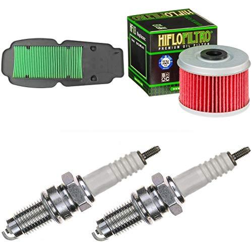Filtro de aire, filtro de aceite, bujías para XL 125 V Varadero año 2001 – 2006 kit de mantenimiento
