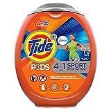 9. Tide PODS 4 in 1 Febreze Sport Odor Defense, Laundry Detergent Soap PODS, High Efficiency (HE), 73 Count