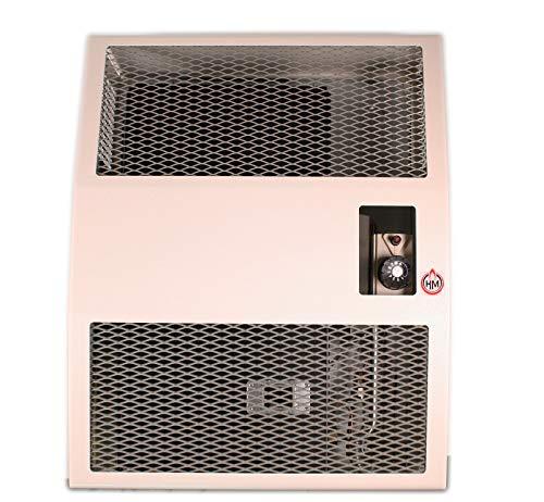 Außenwand-Heizgerät HM 3,4 T Propan 3400 W inklusive Abgasrohrset 700 mm Piezozündung für Einzelräume (Gasheizer Gasheizgerät)