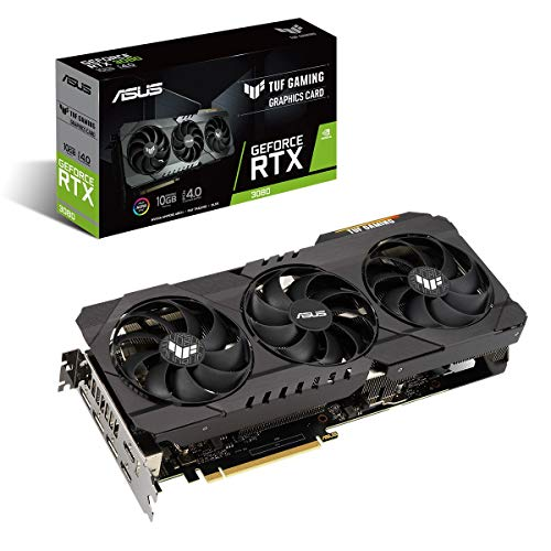 Asus TUF GeForce RTX 3080 10 GB GDDR6X, Scheda video Gaming con dissipatore triventola per Gaming 4K e alti refresh rate