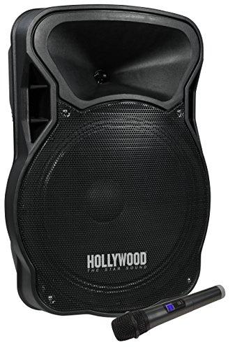 HOLLYWOOD the Starsound - Mobile Beschallungsanlage/PA-Anlage   MB-15   700W, Funkmikrofon