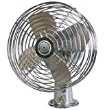 RoadPro Car Fan, Heavy Duty, 12V, Metal