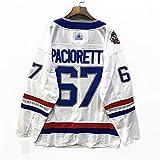 Pacioretty#67 CanadiensアイスホッケージャージアイスホッケーTシャツアイスホッケースポーツウェアゲームチームユニフォームルーズプラスサイズ野球