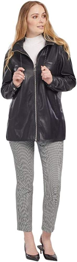 Tribal Ranking TOP3 Tulsa Mall Women's Packable Hooded Jacket-Black