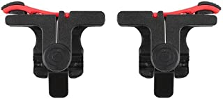 SKEIDO PUBG Trigger Mobile Game Fire Button Aim Key Smart phone Gaming Trigger L1 R1 Shooter Controller - iPhone
