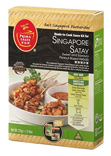 Singapur Satay bereit, Sauce-Kit für Singapur Kebab 275 g / 9,7 Unzen kochen