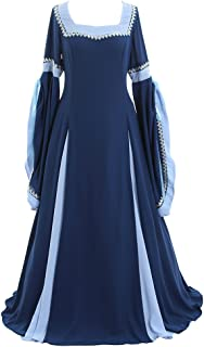 CosplayDiy Women's Deluxe Medieval and Renaissance Costume Dress