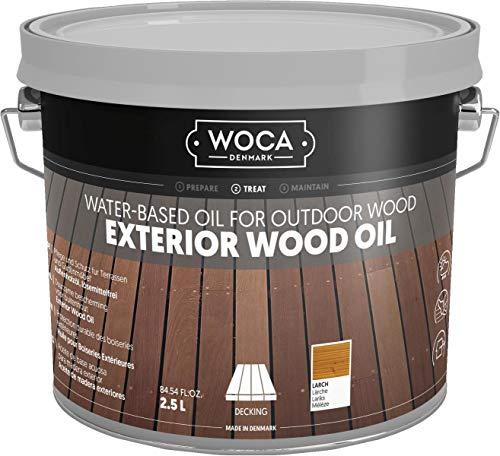 WOCA 617955A Exterior Öl, Lärche 2,5 L