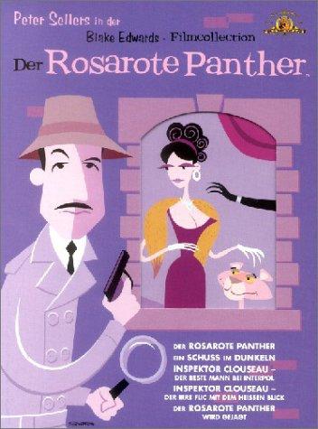 Der Rosarote Panther Film Collection (6 DVDs)