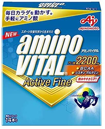 アクティブファイン 14本入箱 アミノバイタル 味の素