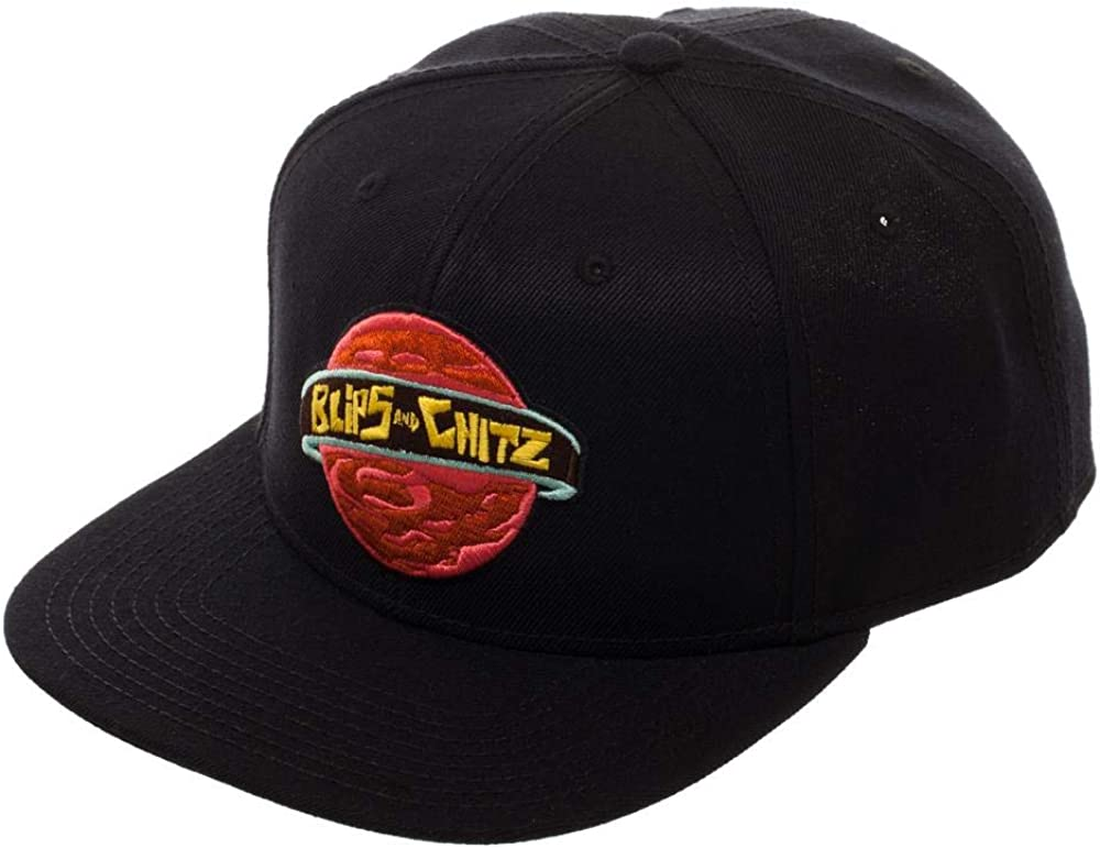 Bioworld Rick and Morty Blips and Chitz Snapback Hat