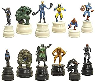 Best marvel vs dc chess pieces Reviews