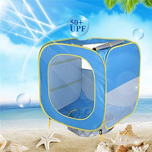 LAMPSJN Tiendas Infantiles Tienda de campaña al Aire Libre de los niños de Protección Solar Piscina Tienda del Juego de Juguete de la casa for la Playa Tiendas de Tunel