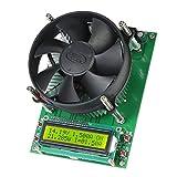 Auoeer Carga electrónica, 150W Módulo Probador de Corriente Constante de Carga electrónica 60V 10A de la batería Capacidad de Descarga con el LCD