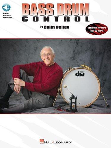 Bass Drum Control - Revised (Written by Colin Bailey, BK / CD Pack): Noten, CD für Schlagzeug