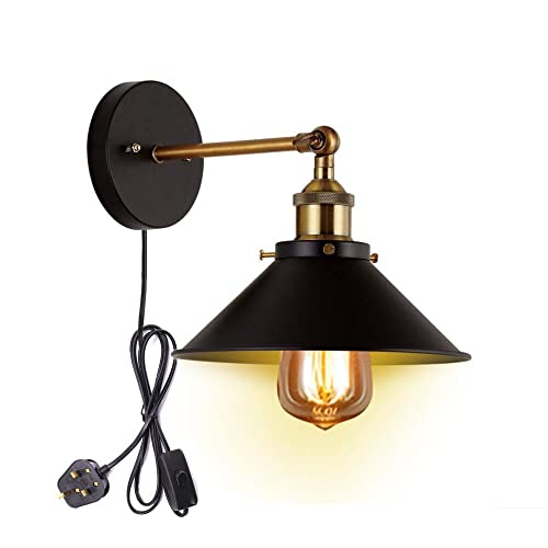 Plug In Wall Sconce Amazoncouk