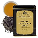 Harney & Sons Organic Gunpowder Green, Loose leaf 8 ounce tin