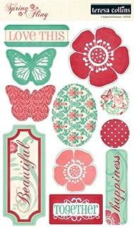 Spring Fling Teresa Collins Designs Chipboard Elements