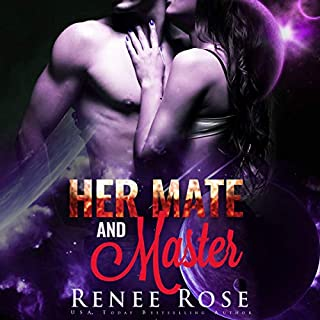 Her Mate and Master     An Alien Warrior Romance (Zandian Masters, Book 6)              By:                                                                                                                                 Renee Rose                               Narrated by:                                                                                                                                 Jiraiya Addams                      Length: 4 hrs and 3 mins     69 ratings     Overall 4.6