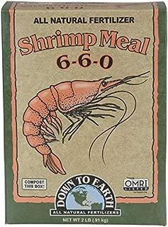 Down to Earth Organic Shrimp Meal Fertilizer Mix 6-6-0, 2 lb