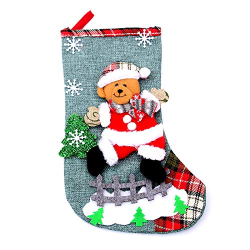 Generic Brands Christmas Decoration Christmas Socks Ornaments Pendant Small Boots Children New Year Candy Bag Gift Fireplace Tree Jewelry