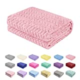Baby Blanket Flannel, Cozy Throw Blankets for Newborn Infant...