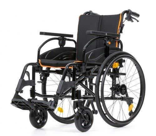Rollstuhl Tiger Reiserollstuhl Zusammenklappbar Viele Verstellmöglichkeiten Größe 45 cm