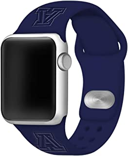 Affinity Bands Arizona Wildcats Debossed Silicone Band Compatible with The Apple Watch - 42mm/44mm