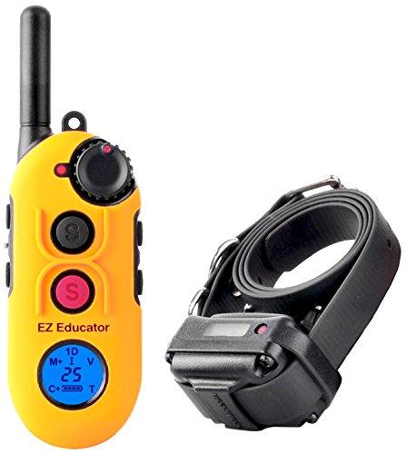 Educator EZ-900 Easy 1/2 Mile E-Collar Remote Dog Training Collar With Vibration, Tapping Sensation and Pavlovian Stimulation