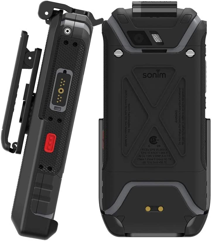 BELTRON Sonim XP5S Belt Clip, Heavy Duty Rotating Belt Clip Holster for Sonim XP5S XP5800 (AT&T FirstNet Sprint) Secure Fit & Quick Release Latch (Durable Reliable & Lightweight) - NOT for XP5
