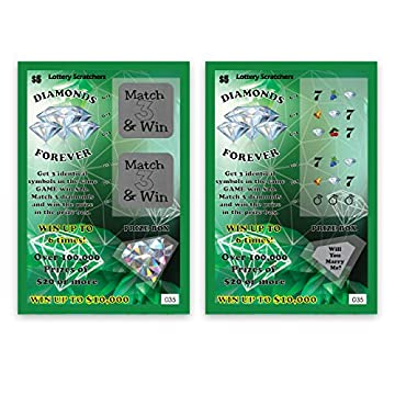 Will You Marry Me Proposal Scratch Off Lottery Ticket