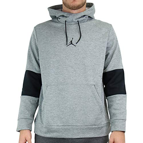 Nike Herren Jordan Air Therma Hoodie Grau S