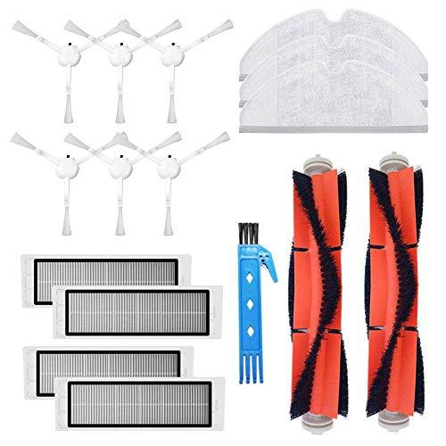 Kit accessori per aspirapolvere robot Xiaomi 1C Xiaomi 25012 Parti robot XM200022 2 Spazzola principale 4 Spazzola laterale 6 Filtro HEPA 3 Mop