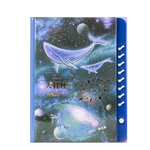 Diario bloqueado, Cuadernos de redacción doce cuadernos de constelaciones se pueden bloquear Bloqueo de contraseña de diario Bloqueo de cuaderno bloqueado para niños L