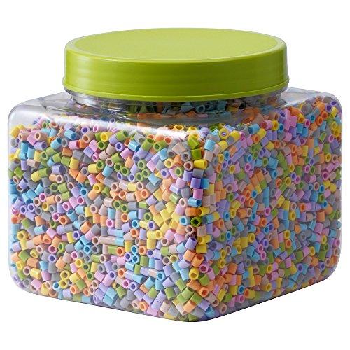 Zigzag Trading Ltd Ikea PYSSLA - Perlen Verschiedene Pastellfarben 0.7kg