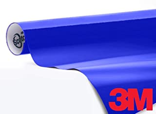 3M 1080 Gloss Cosmic Blue Air-Release Vinyl Wrap Roll (1/2ft x 5ft)