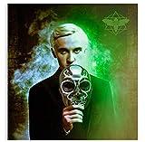 DPFRY Tom Felton Draco Malfoy Poster Dekorative Malerei