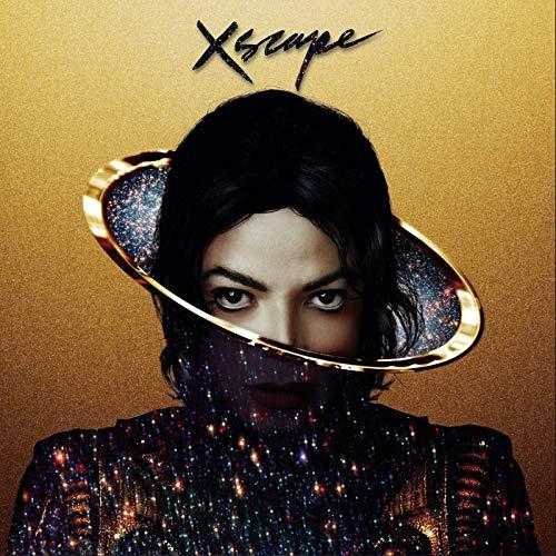weihuobu Michael Jackson XSCAPE Album Cover Poster Stampa su Tela Wall Art Pittura per Soggiorno Home Decor Regalo -24x24 Pollici Senza Cornice