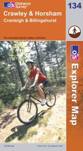 OS Explorer map 134 : Crawley & Horsham
