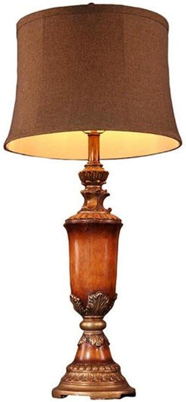 XIAOJIA Tischleuchte Tischleuchte, American countryside Resin Dekoration Dekoration Dekoration Bett Licht, einfach klassische Nacht Licht für Hotel, Wohnzimmer, Arbeitszimmer, Baby Zimmer B072C12DR6     | Heißer Verkauf  b11bda