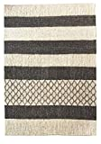 Kunstloft Alfombra Tejida a Mano 'Lovely Stripes' 160x230cm