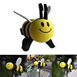 Volibear Lovely Honey Bee Aerial Ball Car Antenna Toppers Smiley Bumblebee Antenna Topper Antenna Hat