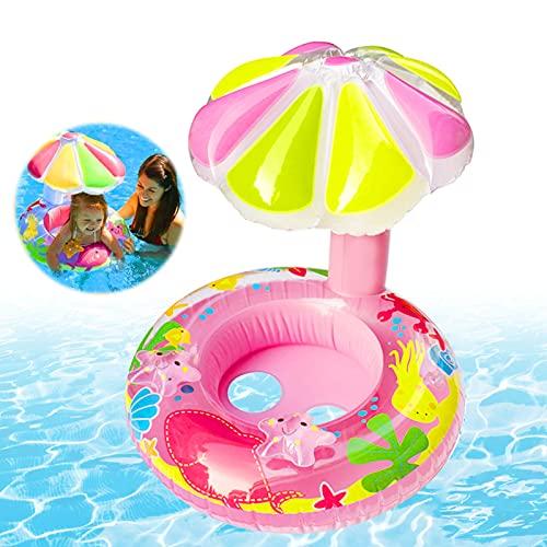 Sunshine smile Galleggiante per Piscina per Bambini,Anello di Nuoto,Anello da Nuoto per Bambini,seggiolino Piscina per Bambini,Anello da Nuoto gonfiabili