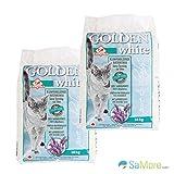 2x 14= 28kg Golden Grey White Litière agglomérante Litière senteur lavande Canada