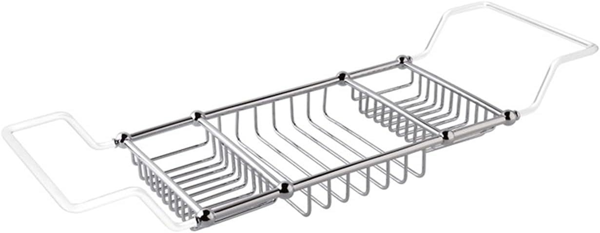 KJLY Bath Tray Bathtub Storage Rack National uniform free shipping Over Shelf The A surprise price is realized tub E