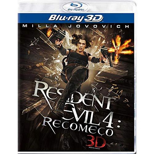 Blu-ray 3 D - Resident Evil: Recomeço - Alta Definição 3 D
