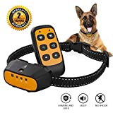 Citronella Spray Bark Collar, Automatic Training Bark Collar Rechargeable Citronella Anti-Bark Collar for Dogs Small Medium Large No Shock Harmless Waterproof