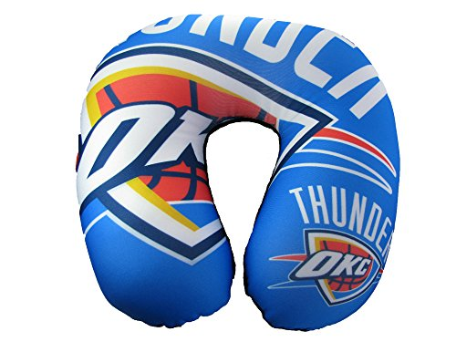 NBA Oklahoma City Thunder Impact Neck Pillow, Blue